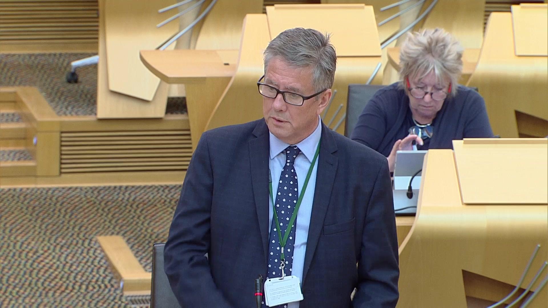 Scottish Government Debate: Justice: Recover, Renew, Transform