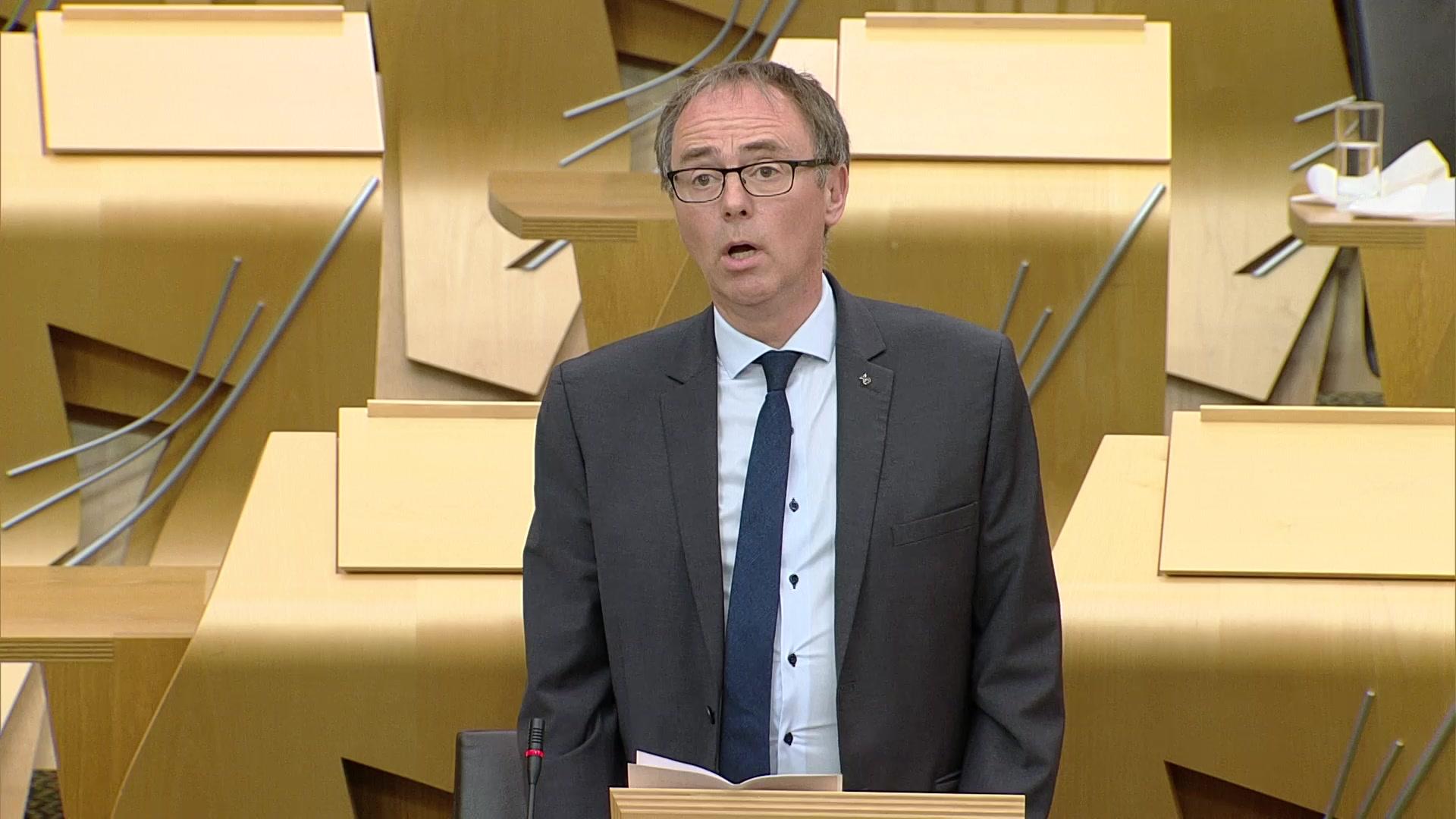 Members' Business — Alasdair Allan: National Gaelic Language Plan 2023-28