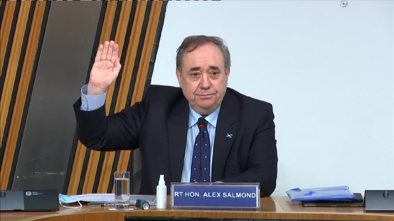 Committee on the Scottish Government Handling of Harassment Complaints