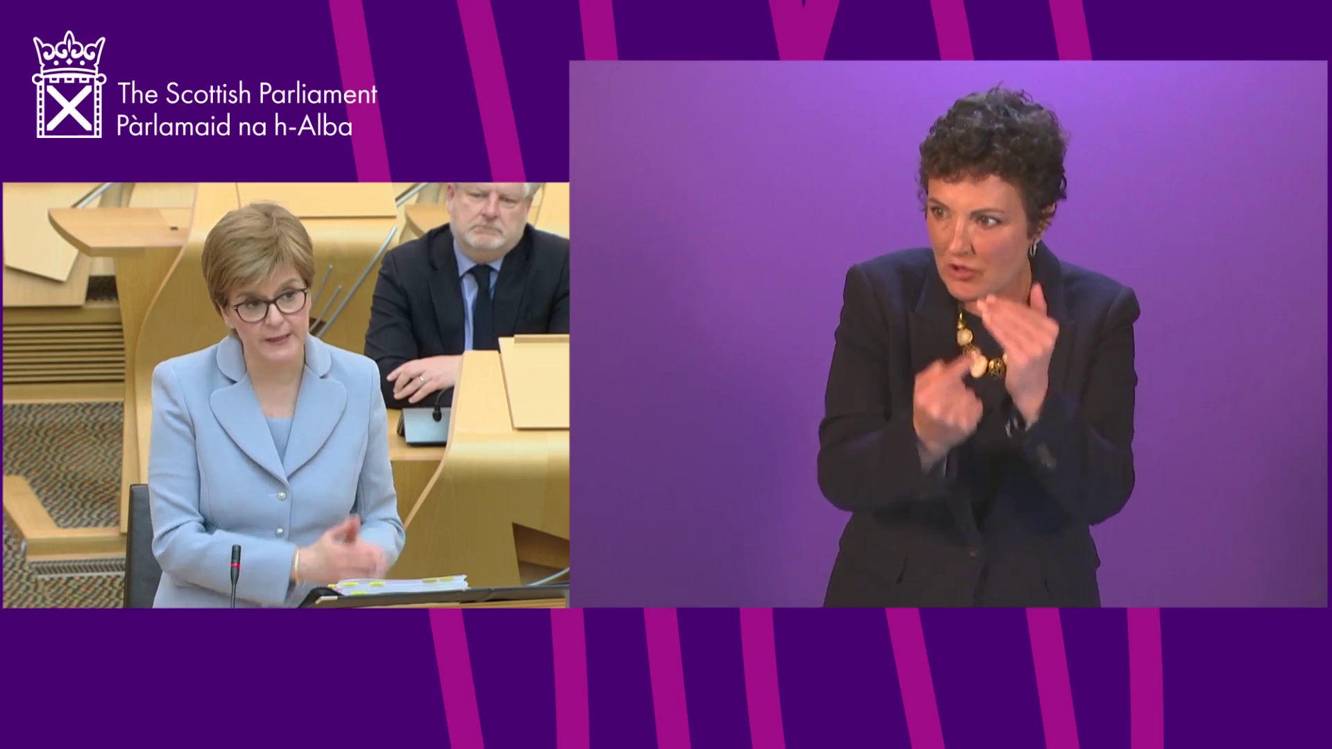 First Minister's Questions (BSL)